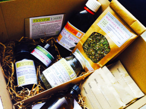 Sacred Seeds Autumn Herb Box