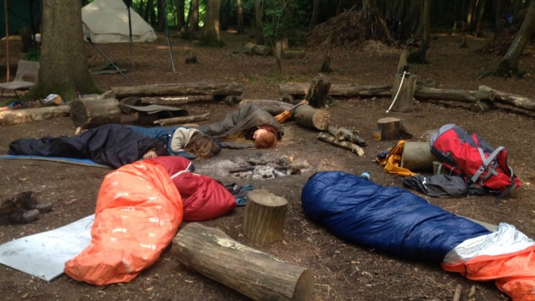 Easter Camp Out!